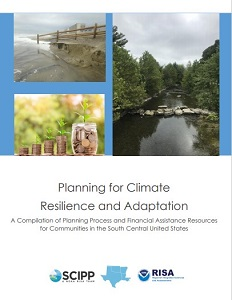 Cover page of the planning process and financial assistance resource compilation document.