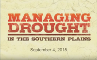 Sep. 4th Drought Briefing