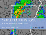 Simple Planning Tool for Arkansas Climate Hazards
