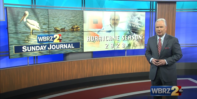 Dr. Barry Keim was featured on WBRZ's Sunday Journal on May 17, 2020.